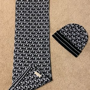 Michael Kors Matching Scarf and Beanie Set